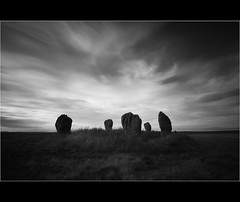 1... (Devilineden) Tags: england bw white black standing photoshop canon long exposure stones 10 northumberland stop lee filters berwick upon tweed 50d duddo cs5 devilineden