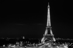 Eiffel Tower (gwhiteway) Tags: travel vacation paris france tower tourism french europe honeymoon european landmark eiffel tourist romance romantic