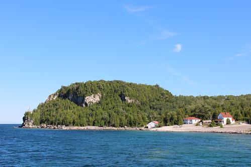 Flowerpot Island Light Keepers Home