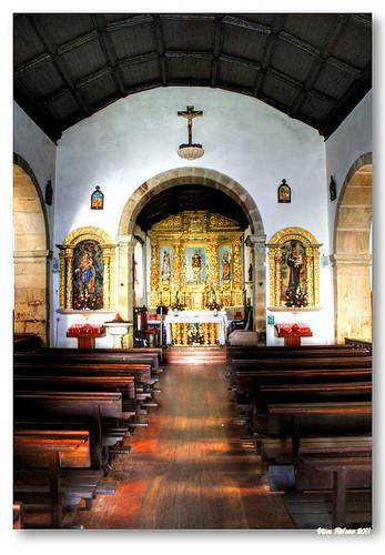 Interior da igreja matriz de Melgaço by VRfoto