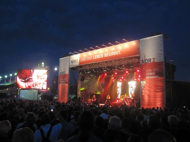 NDR Stage at Hanse Sail 2011, taken by Felix Lau, 14th August 2011
