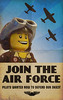 Recruitment Poster (JonHall18) Tags: plane poster lego moc skyfi dieselpunk dieselpulp