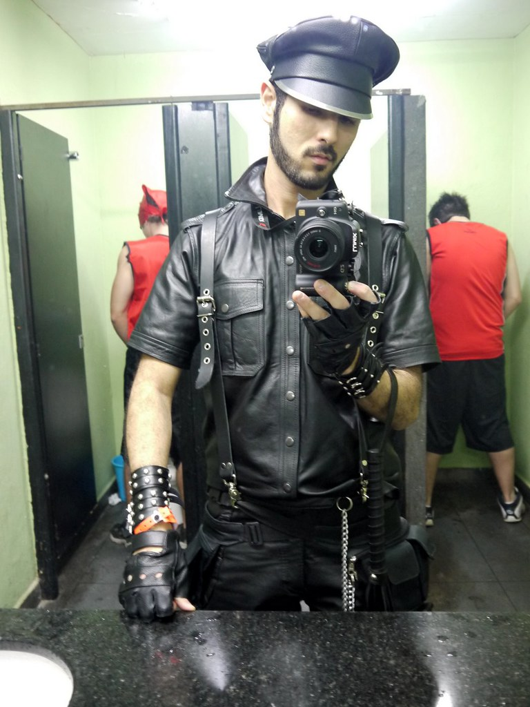 Asian Gay Leather Master 79