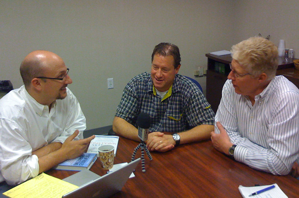 Podcasting with David Meerman Scott and Paul Gillin from 2008