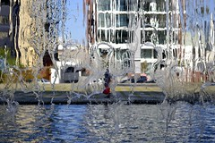 Cortina de gua (RadamesM) Tags: water fountain paran gua square curitiba praa fonte