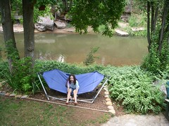 (HIRH_MOM) Tags: 2001 family camping summer arizona hot smile smiling creek swimming fishing cabin august swing familyfun summerfun payson rainbowtrout familyvacation smilinggirls catchingfish riverfishing eastverderiver waterswing gilrshavingfun