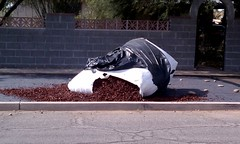 1 ton of rubber mulch