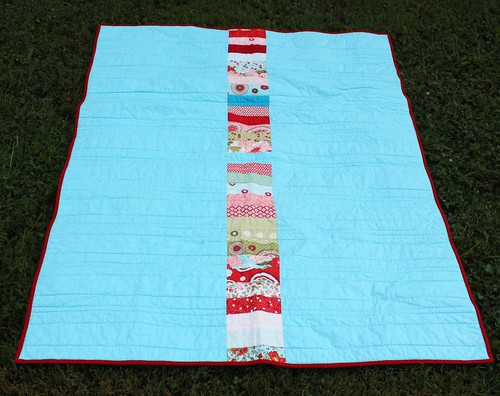 Bliss Fat Quarterly Jelly Roll Quiltalong Quilt