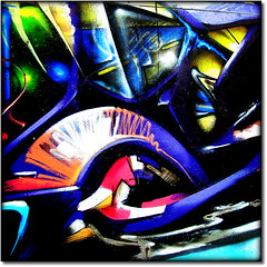 Mural Painting (Pifou 2010) Tags: street light streetart abstract paris france art colors town couleurs montmartre lumiere walls rues ville murs abstrait muralpainting 2011 vividimagination artdigital awardtree crazygeniuses gerardbeaulieu pifou2010 popart art2011 netartii