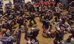 The Fellblades Attack (TechnicalJelly) Tags: chaos space games workshop marines khorne