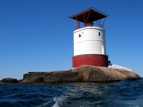 Red Rock lighthouse - Parry Sound, Ontario - Georgian Bay