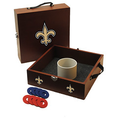 New Orleans Saints Washers Toss Game