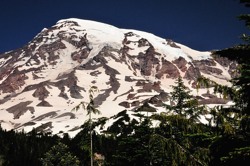 Mt. Rainier on a clear day