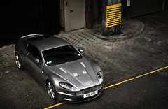 V12 Powerrr! (BjornNieborg) Tags: wallpaper london cars beauty grey f16 porsche rare astonmartin dbs elegance db9 2011 typicallondon v8vantage vantages