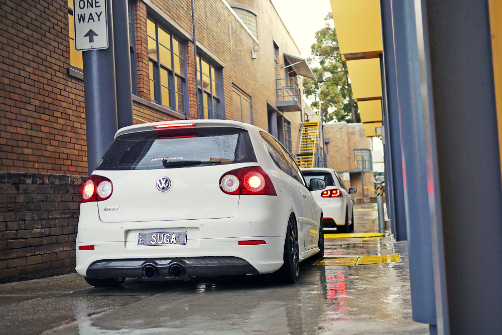 LED R32 MK5 REAR TAIL LIGHTS WHO HAS THEM ? [Archive