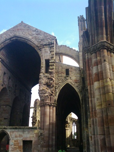 Melrose Abbey, Scotland 04