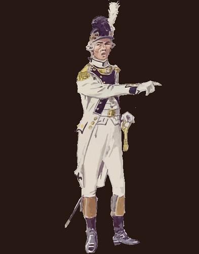 Regimiento de Infantería de Picardía (2 º Regimiento de Infantería), coronel de 1791