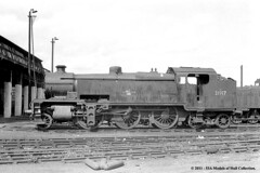 26/08/1963 - Feltham (70B) MPD, London. (53A Models) Tags: london train w railway steam southernrailway feltham 70b 31917 britishrailway 264t