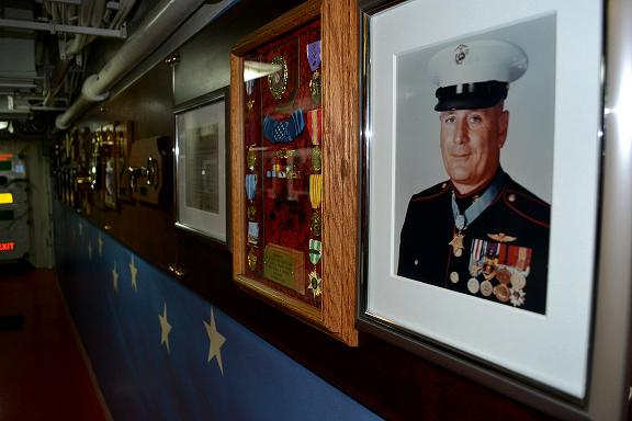 USS Howard Celebrates 44th Anniversary of Medal of Honor Recipient