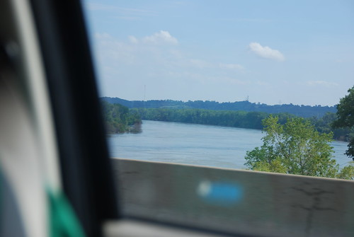 Missouri River on Hwy 30