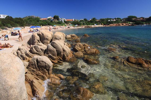 Spiaggia del Principe on Costa Smeralda, Sardinia.