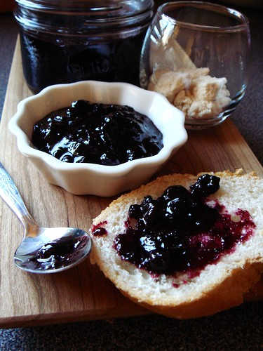 Wild Blueberry Maple Jam
