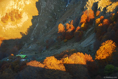 (.:: Maya ::.) Tags: light mountain fall sunrise shadows hut  rai hija    mayaeye mayakarkalicheva  wwwmayaeyecom