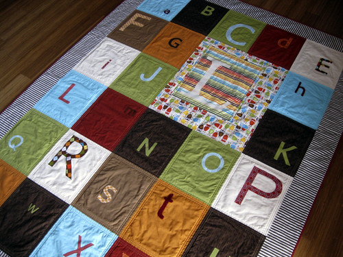 Alphabet Soup quilt