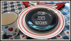 ZOE'S KITCHEN BUTTON