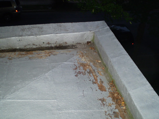 Porch roof drain by sarameg