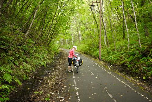 Shiroishi Cycling Road, Kitahiroshima, Hokkaido, Japan