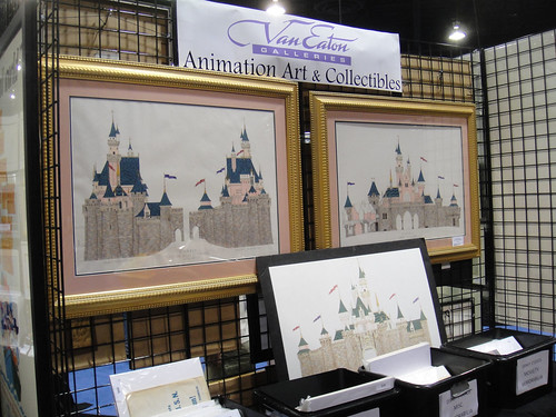 D23 Expo 2011 - Van Eaton Galleries Animation Art & Collectibles