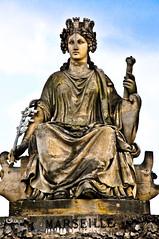 Statue for Marseille by Pierre Petitot at Place de la Concorde - Paris France (mbell1975) Tags: sculpture paris france statue by de for la marseille europe place pierre eu concorde petitot