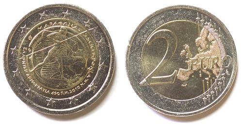 2 Euros Grecia 2010