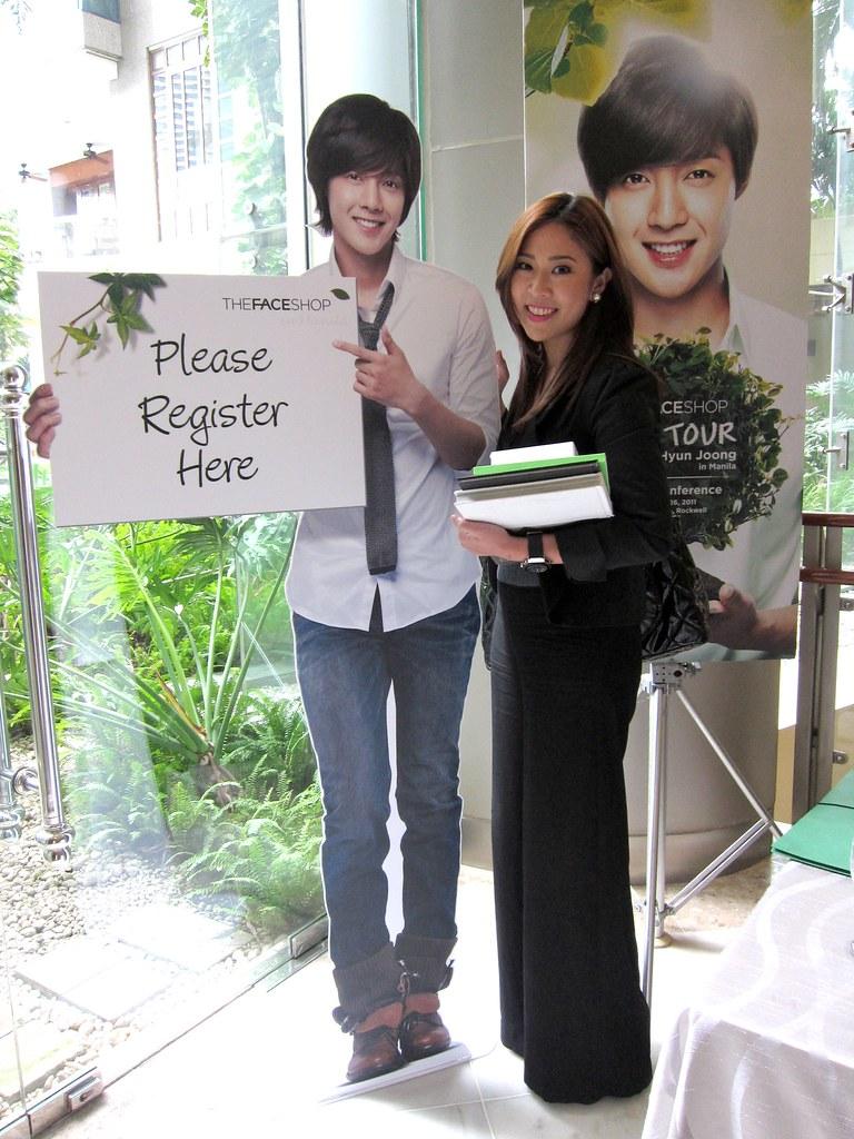 Keri and Kim Hyun Joong