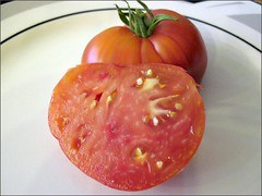 Inside an Anna Russian tomato