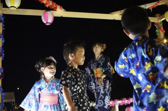 夏祭り3 盆踊り 子供編