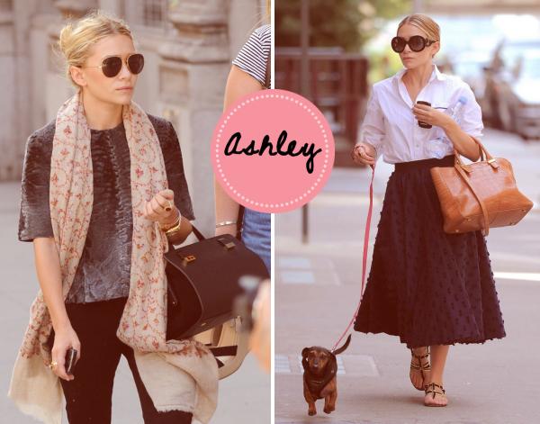Ashley Olsen, style icon