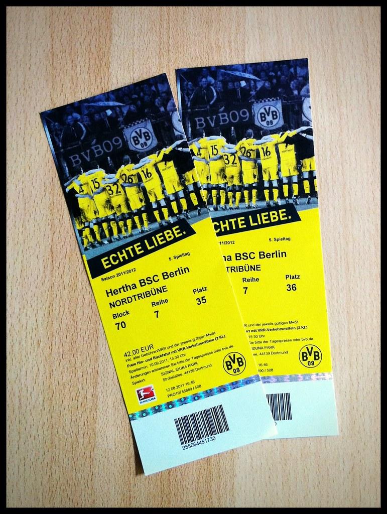 Bvb Berlin Tickets