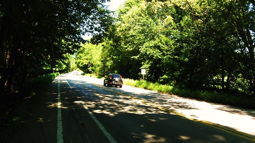 The very lovely and scenic Beckwith Road.  Morton Grove Illinois USA. August 2011. by Eddie from Chicago