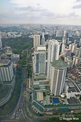 Scotts Road, Singapore. (Reggie Wan) Tags: city building tourism architecture singapore asia southeastasia day cityscape aerialview orchardroad moderncity mariotthotel scottsroad asiancity sonya700 sonyalpha700 reggiewan gettyimagessingaporeq1