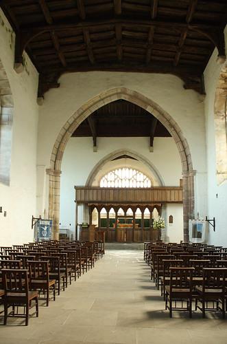 St Beuno's Church interior, Clynnog Fawr
