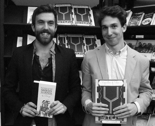 Edinburgh International Book Festival - Nick Hayes & Wiliam Goldsmith 09