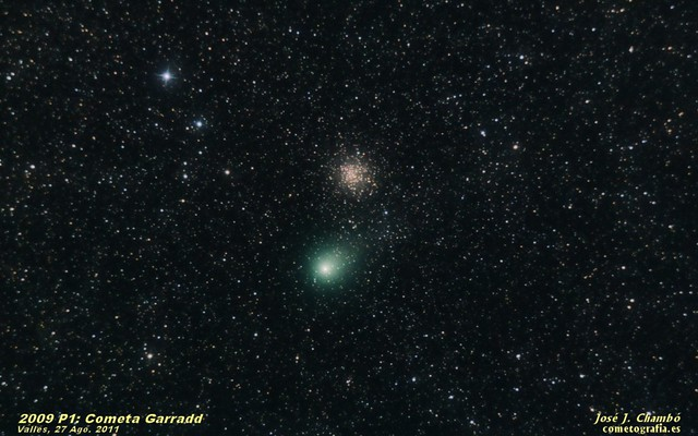 Comet Garradd and M 71