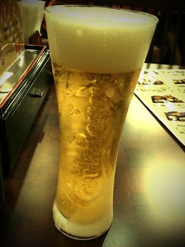 氷点下ビール