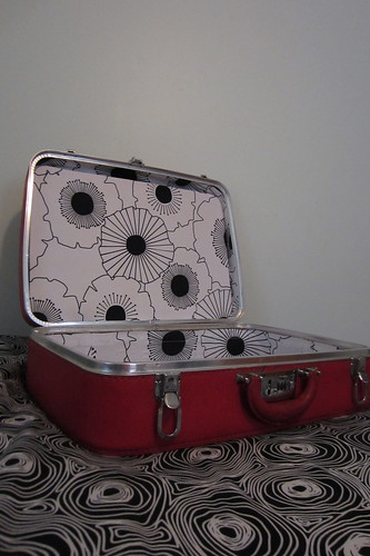 Dress-up suitcase redo - after!