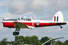 G-BWUT DE HAVILLAND CANADA DHC-1 CHIPMUNK 22 C10918  - 110828 - Little Gransden - Alan Gray - IMG_0826