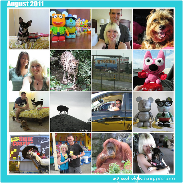 Monthly Mosaic August 2011