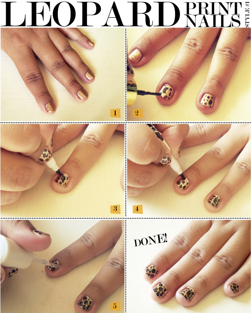How to make easy nail polish design