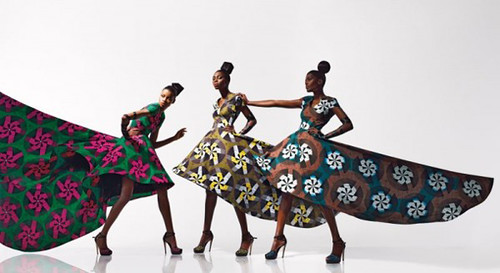 Dazzling Graphics' fabric collection from Vlisco - 2